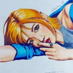 Copic Portrait #7