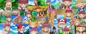Serena collage