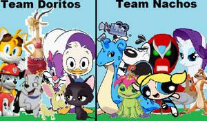 Team Doritos vs Team Nachos