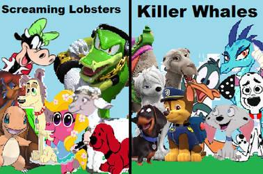 Screaming Lobsters vs Killer Whales by arvinsharifzadeh