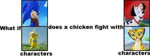 SonicLala LuckyFuli chicken fight