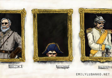 Generals Through the Ages by spastic-frog