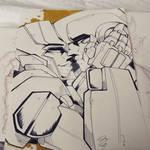 Chromia and Ironhide