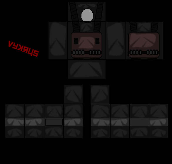 black and red army roblox uniform template pictures to pin