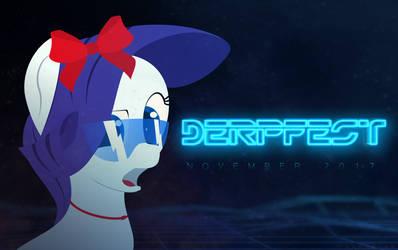 Rarity DerpFest'17 by Ducheved