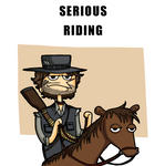 Serious Riding (animation) by CopperKidd