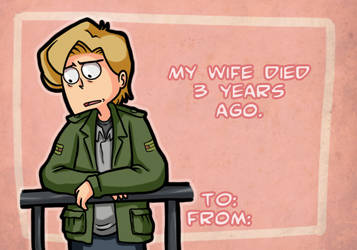 Valentine's Day Silent Hill 2 by CopperKidd