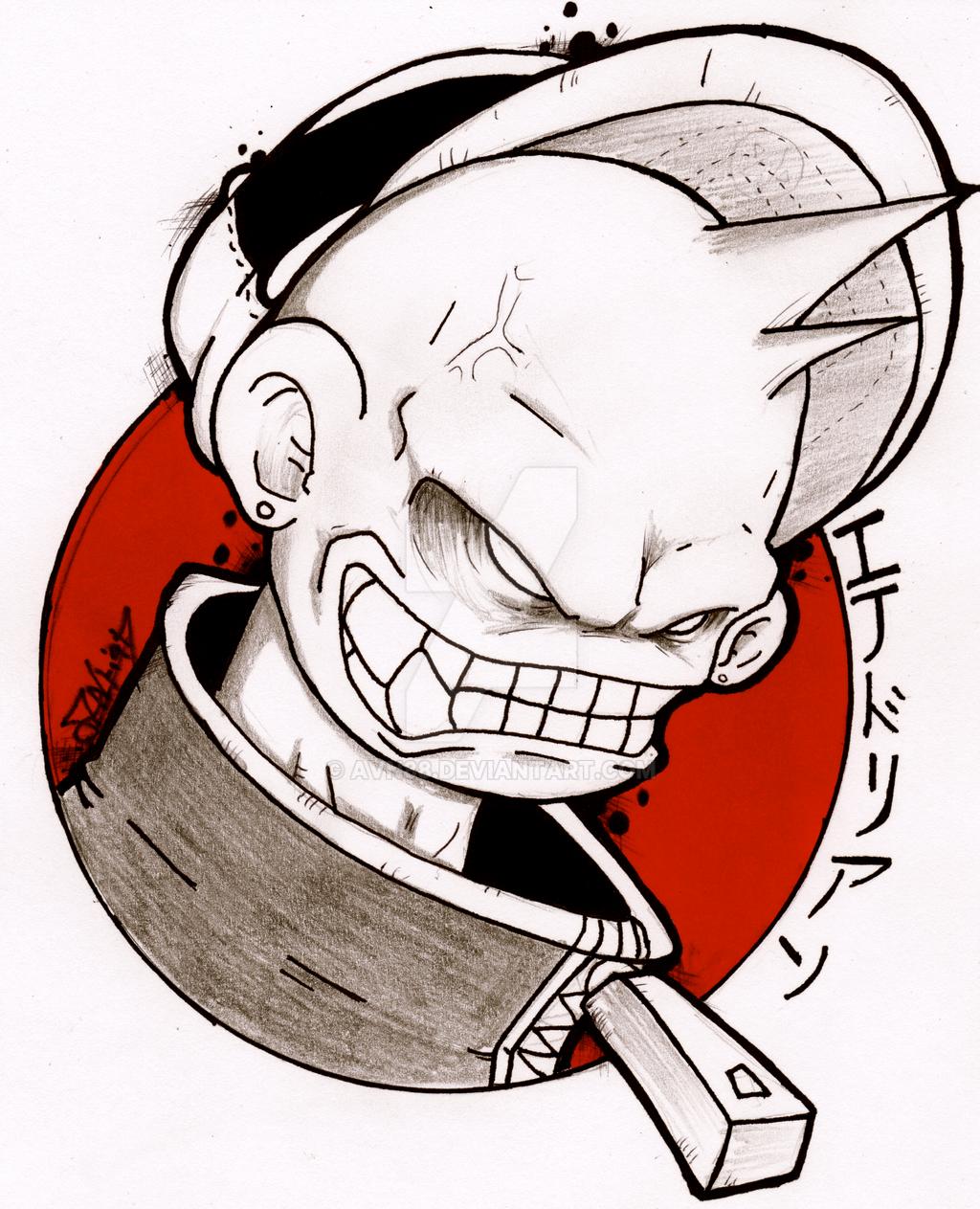 crazy monkey sketch by avn88 on deviantart