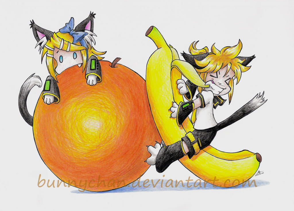 Happy 6th Birthday, Kagamine Rin and Len! by bunnychan
