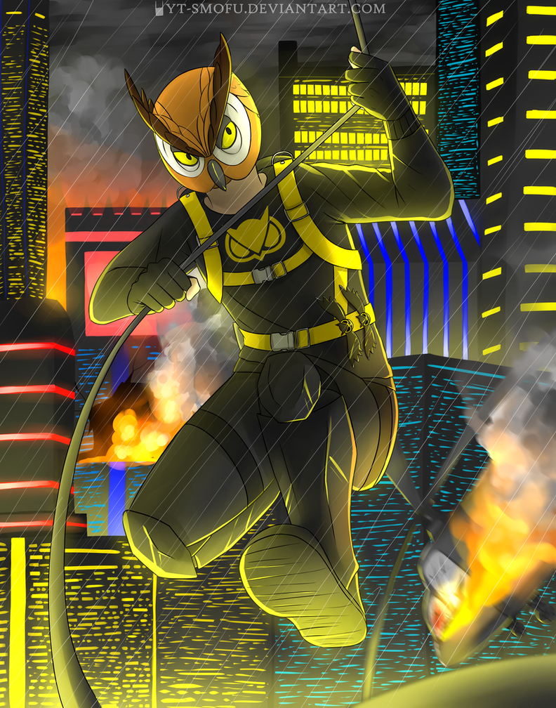 Bat Owl by YT-Smofu on DeviantArt H20 Delirious Drawings