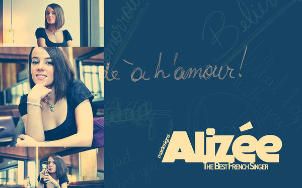 1280 x 800 wallpapers. Alizee Wallpaper 1280 x 800 by