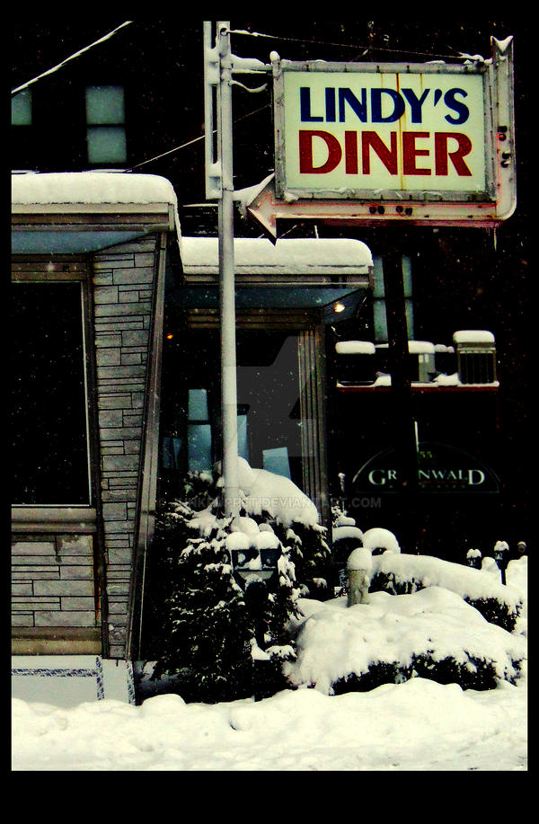 Lindy's Diner by junkpuppet