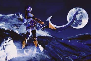 Refreshing moon by Satomi-Tadashi