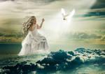 Sky swan