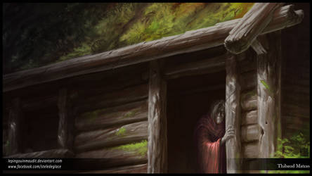 The old hut, in the Old Forest by LePingouinMaudit