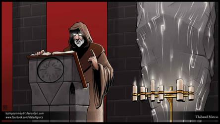 The Black Monk by LePingouinMaudit