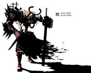 Samourai by LePingouinMaudit
