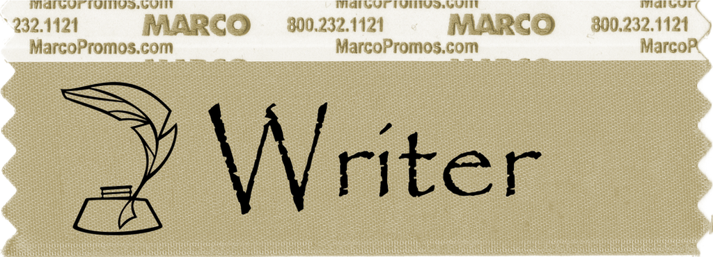 Writer Ribbon by drax99