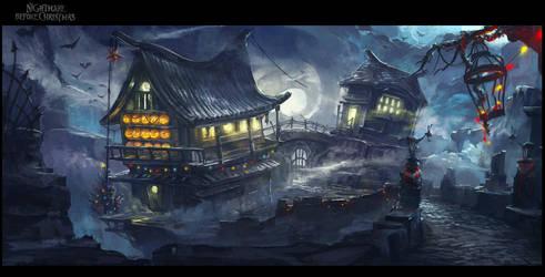 Nightmare Before Christmas- Asia by XavierWard