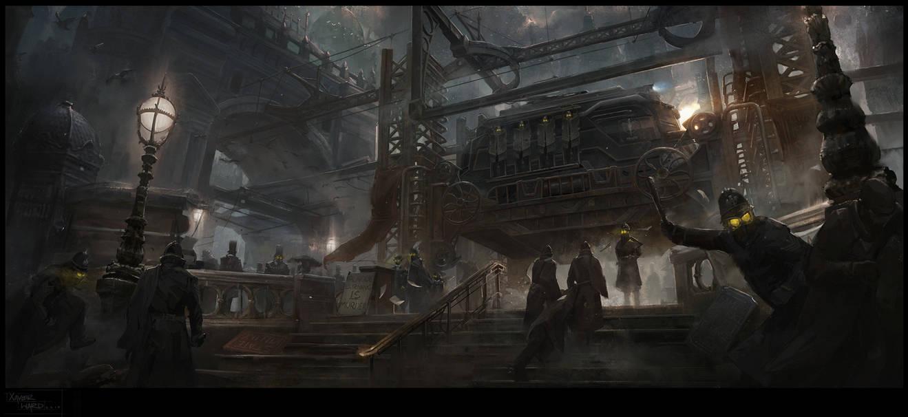 Twilight Hour by XavierWard