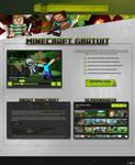 Sleek Minecraft Web Design