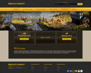 RSGold Homepage