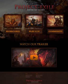 Project-Exile RSPS Website Design
