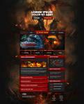 RedRune MMORPG Website Design