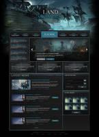 Land of Archangels Website Design Homepage