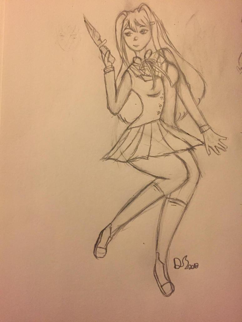 Yuri ddlc by windspeedwolfy
