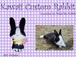 Rabbit Custom KAWAII Plush