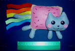 Nyan cat plush SOLD COMMISIONS OPEN