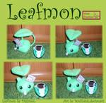 Leafmon mini plush