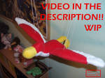 WIP Flying loftwing plush, soon FS