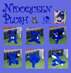 Nidoqueen plush collage