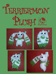 NEW terriermon plush commission