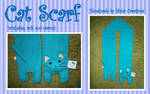 Blue Cat Scarf SOLD