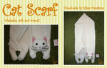 White Cat Scarf SOLD