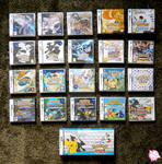Pokemon games (NDS and N3DS)