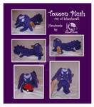Toxeon Plush Commission (OC)