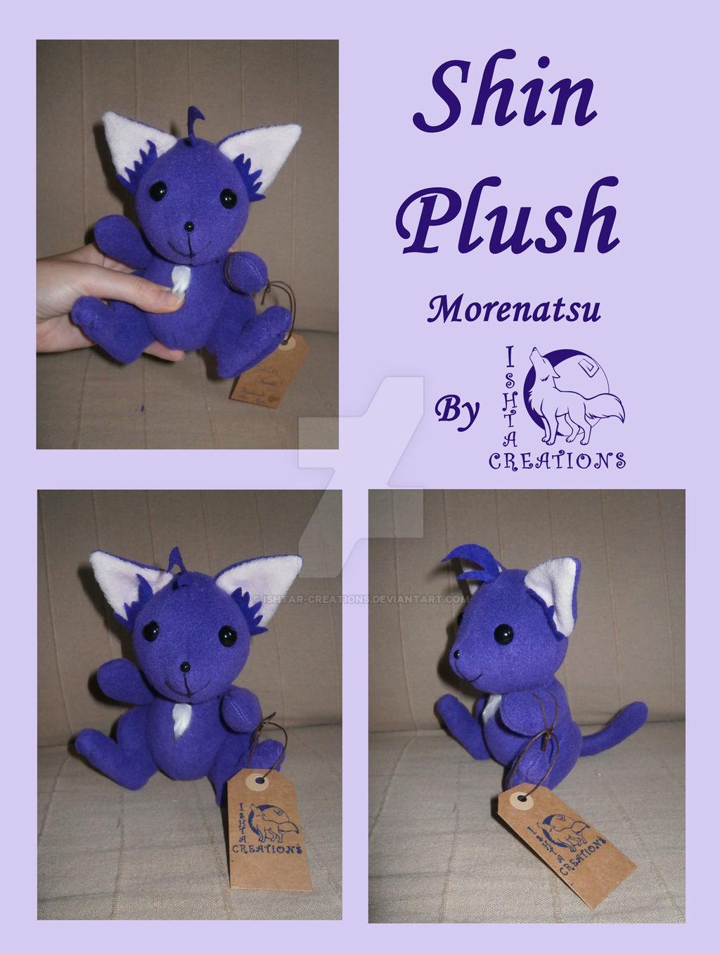 Shin Morenatsu chibi plush