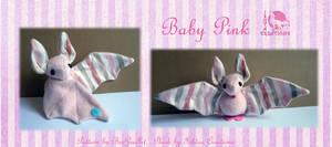 Baby Pink Bat Plush
