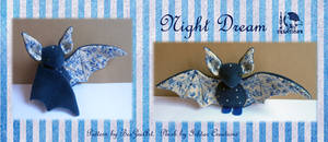 Night Dream Bat Plush