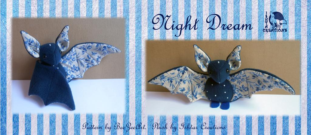 Night Dream Bat Plush