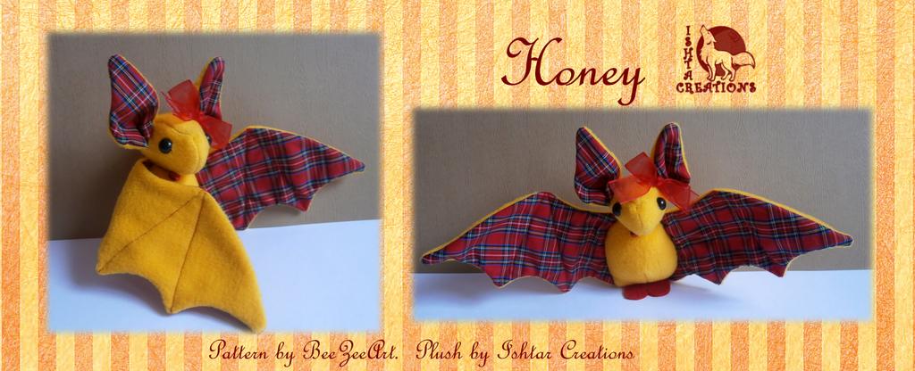 Honey Bat Plush