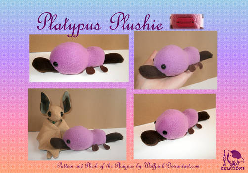 Platyplus Kawaii plush