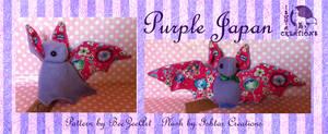 Purple Japan Bat