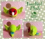 Lovebird Plush FOR SALE