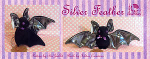 Silver Feather Bat