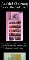 Showcase for Amiibo and little treasures